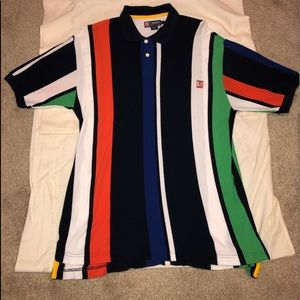 Vintage Chaps by Ralph Lauren color block Polo!🔥